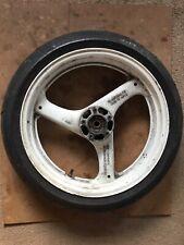 Suzuki GSXR400 GSXR 400 GK76A  RGV 250 Front Wheel 17 X 3.50 ( Damaged )