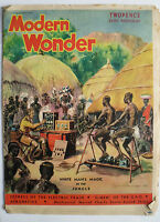 Modern Wonder Magazine Vol 2 no 41 February 26 1938 Imperial Airways Ensign