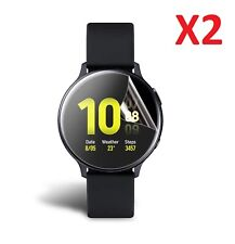 2 X For Samsung Galaxy Watch Active2 44mm Screen Protector Ultra Clear