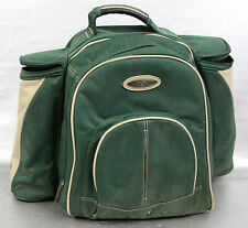 Picnic Set Rucksack Travel Cooler Bag Backpack With Cutlery For 4 Outdoor Meal
