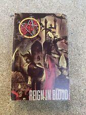 Slayer Reign In Blood Analog Cassette 1986 Def Jam Rick Rubin