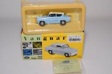 * VANGUARDS VA00122 FORD ANGLIA 105E 105 E BERMUDA BLUE MINT BOXED