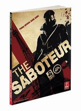 The Saboteur by Prima Games Staff and Mike Searle (2009, Paperback) Game Guide