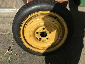 HONDA CIVIC MK8 2006-2012 15 INCH SPARE SPACE SAVER STEEL WHEEL AND TYRE