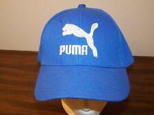Puma Golf Blue Strapback Hat Cap - Preowned