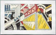 Roy Lichtenstein 1923-1997: Study for Preparedness Farboffsetlitho handsigniert
