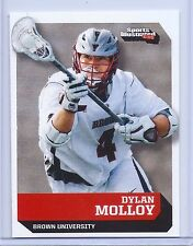 """DYLAN MOLLOY 2016 SPORTS ILLUSTRATED """"1ST EVER PRINTED ROOKIE CARD""""! LACROSSE"""