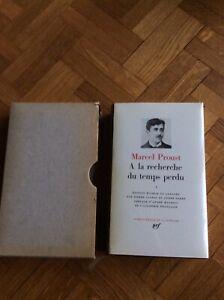 La Pleiade Proust A la recherche Du Temps Perdu 1954