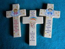Kinderkreuz Holzkreuz Taufkreuz Wandkreuz Geschenk Kinderzimmer