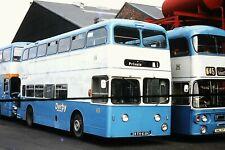 BUS SLIDES    DERBY    REG NO RTH 639
