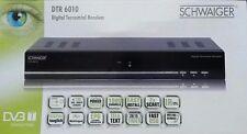 Digital Terrestre Receptor DVB-T DTR 6010 DVBT SCHWAIGER OFERTA