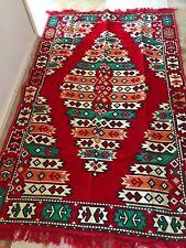 Turkish Kilim Authentic Anatolian Rug Carpet Apache Model 5 Colored