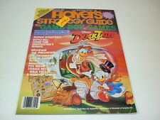 Game Player's Strategy Guide To Game Boy Games Vol 1 No 2 Disney's Duck Tales