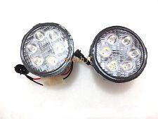 18W 6LEDs  6500K LED Fog Lamp DRL for Nissan Juke Murano Note Patrol Xtrail etc