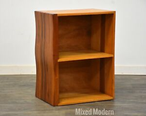 Solid Cherry & Oak Modern Bookshelf