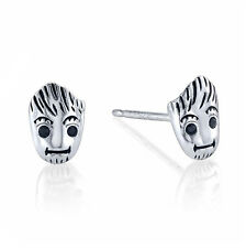 Marvel BABY GROOT STUD EARRINGS Guardians of the Galaxy Sterling Silver Cosplay
