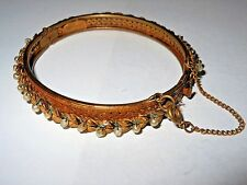 Signed Vintage Miriam Haskell Beaded Bracelet