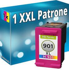 TINTE DRUCKER PATRONEN für HP 901 XL COL OFFICEJET J4500 J4524 J4535 J4540 J4550
