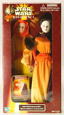 "MIB New STAR WARS 12"" Queen Amidala Hidden Magesty Collection Figure Doll 1998"
