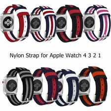 Woven Nylon Strap Color bracelet Buckle iWatch Watchband for Apple Watch Series