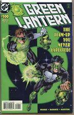 Green Lantern 1990 series # 100 very fine comic book