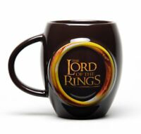 LORD OF THE RINGS one ring  OVAL MUG 15OZ CERAMIC CUP MGO0009 GIFT BOXED
