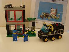 LEGO system 6566 : CITY BANK TRANSPORTEURS DE FONDS  + boite + copie plan