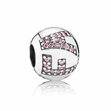 Pandora Charm Surrounded By Faith, Pink Cubic Zirconia 791417PCZ