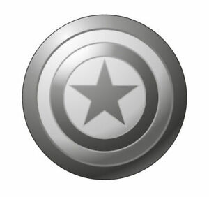 Marvel Captain America Pewter Lapel Pin
