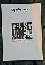 Rare Original Depeche Mode Strangers Book From Anton Corbijn 1990