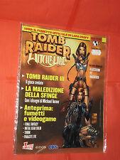 TOMB RAIDER E WITCHBLADE- SPECIAL- FUMETTO CON LARA CROFT- ED.CULT COMICS TOP CO