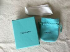 Tiffany & Co Gift Box and Pouch & Ribbon