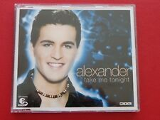 ALEXANDER - TAKE ME TONIGHT , Maxi EP Musik CD Rock Pop ~023