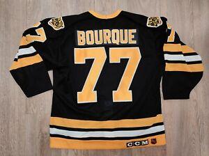 NHL #77 RAYMOND BOURQUE BOSTON BRUINS HOME SHIRT CCM JERSEY SIZE 48
