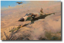 One MiG Down by Robert Taylor - Mirage - Israeli Air Force - Military Aviation