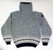 Maglione sweater PAUL & SHARK YACHTING collo alto Lana Taglia L Made in Italy