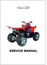 GOES 220 4  Stroke ATV Service Repair Workshop Manual (0125)