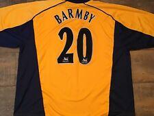 2000 2002 Liverpool Barmby Away Football Shirt XL Maglia Camiseta