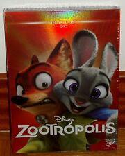 ZOOTROPOLIS ZOOTOPIA CLASICO DISNEY Nº 57 DVD NUEVO NEW SLIPCOVER (SIN ABRIR) R2