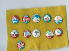 1967 Crane Potato Chip pin Los Angeles Dodgers