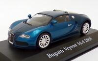 Atlas Editions 1/43 Scale 2 891 011 - 2005 Bugatti Veyron 16.4 - Blue