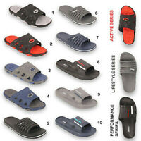 Mens Beach Sandals Slippers Boys Mules Sliders Summer Shoes Flip Flop Size UK