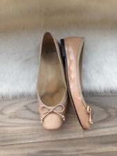 Stuart Weitzman Ballerina Shoes Flats Size 6.5 36 Women Patent Leather