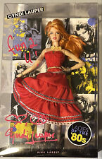 Cyndi Lauper Signed Autographed Barbie Doll NiB Ladies of the 80's Near Mint