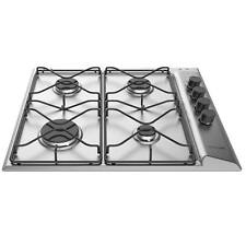 Hotpoint PAN642IX/H 60cm 4 Hotplate Burners Gas Hob with FSD in Stainless Steel