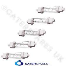 Catering Heat Lamp Bulb 200W Double Jacket Gantry Heated Light X 5 Piece
