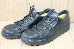 Mephisto Mens Originals Air Relax Black Sneakers Shoes 11.5