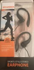 Sylvania Sport Style Stereo Earphones For Ipod/iphone