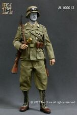 "1/6 12"" Alert Line AL100013 WWII North African defense army suit box set NO BODY"
