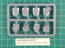 AOS Empire Free Peoples Knights Knight Shields on sprue x 8 RARE OOP B6 B